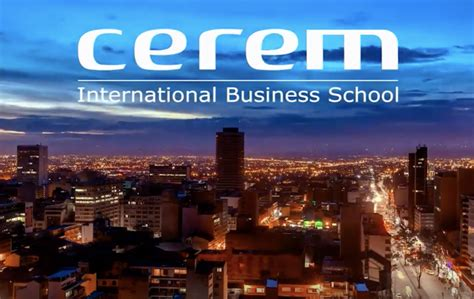 Mba Schools Within 30 Of 07981 by Cerem Business School Colombia