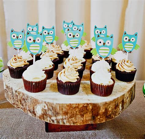 owl themed baby shower table setting baby shower ideas pinterest owl themed baby shower decorations and ideas baby shower