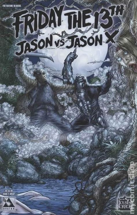 Friday X Two by Friday The 13th Jason Vs Jason X Comic Books Issue 2