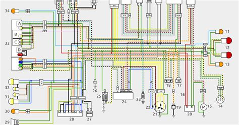 honda motorcycle wiring color codes 35 wiring diagram