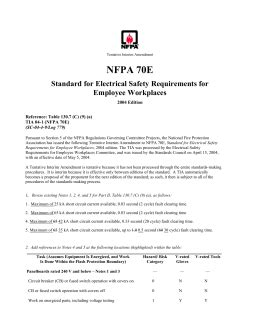 Hazard Risk Category Classifications Nfpa 70e Risk Assessment Template
