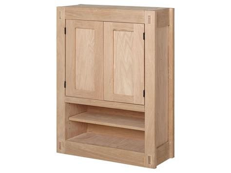 Unfinished Storage Cabinets Unfinished Storage Cabinets Unfinished Mission Hardwood Medicine Cabinet Bathroom Bathroom