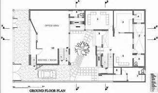 Two Storey House Plans courtyard house lucknow haw magazine