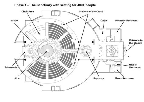church designs and floor plans architectural plan of a church buscar con google
