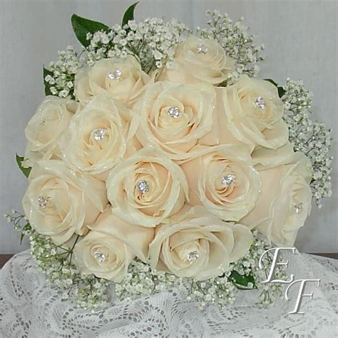 White Rose Bouquet EF 704   Essex Florist & Greenhouses, Inc