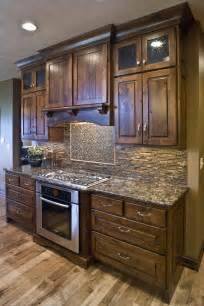 Alder Wood Kitchen Cabinets by Knotty Alder Kitchen Cultivate Com Kitchen Makeover