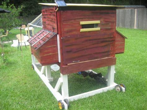 solar powered chicken coop light manoz s chicken coop tractor backyard chickens community
