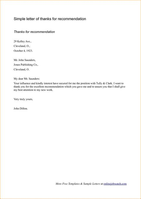 Recommendation Letter Format Employment best sle reference letters for employment letter