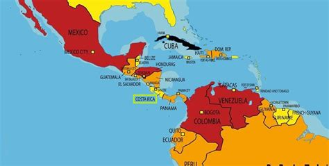 imagenes satelitales costa rica mapa mundi costa rica