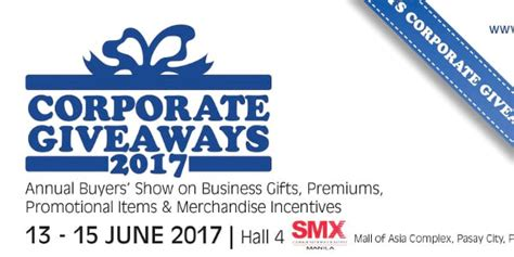 Corporate Event Giveaways - corporate giveaways buyers show 2017 clickthecity events