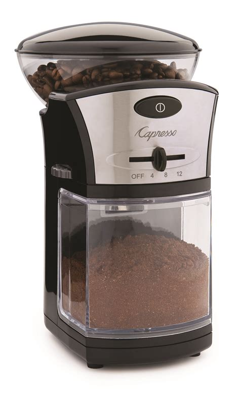 Bean Grinder Coffee Maker Guide To Coffee Grinders Capresso