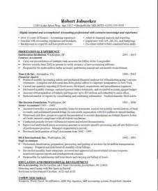 accounting free resumes