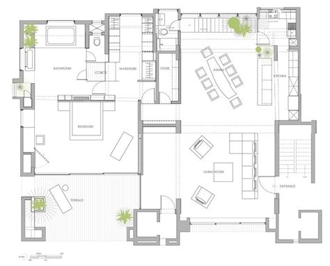 interior floor plans open floor plan penthouse interior design by aj architects