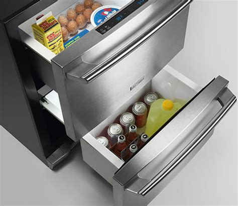 Electrolux Prototypes The Soft Fridge by Electrolux Refrigerator Drawer