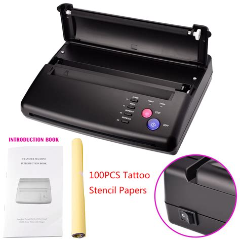 thermal tattoo printer new stencil transfer flash copier thermal