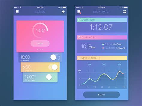 app design rates sport app by sergey valiukh dribbble