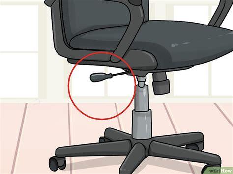 altezza sedia come regolare l altezza nelle sedie per ufficio