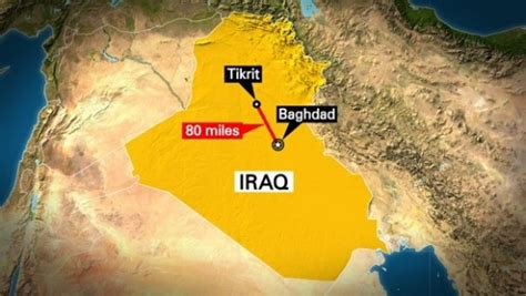 tikrit iraq map us led flying islamic state held tikrit