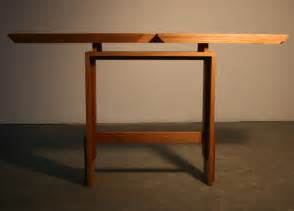 Console Table Design by Choose The Best Wood Console Table The Home Redesign
