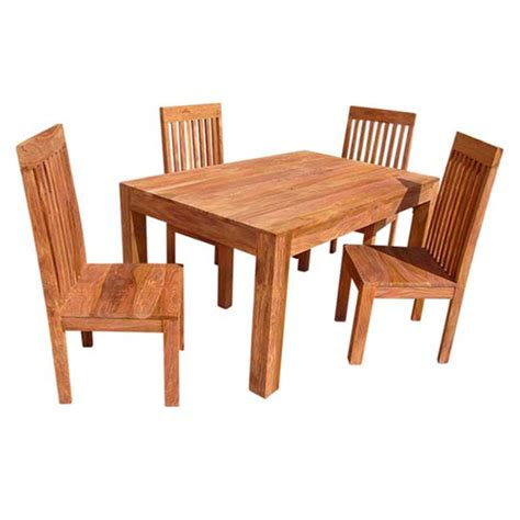 Sheesham Dining Table Assam Sheesham Dining Table With 4 Chairs Homewares No1brands4you