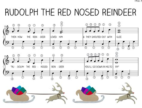Rudolph The Red Nosed Reindeer Song On Recorder