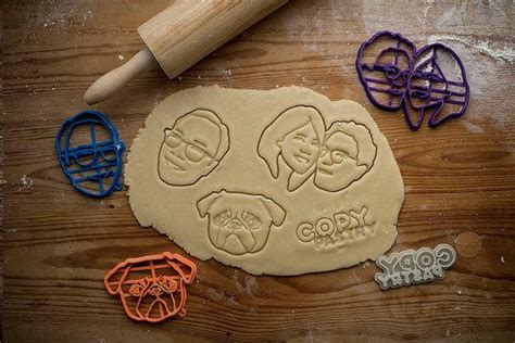 printed customized cookie cutters logos
