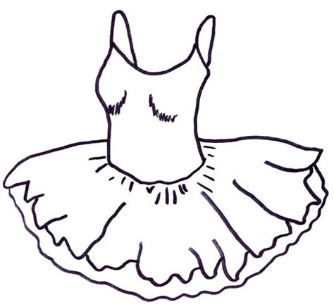 ballerina tutu coloring page ballet coloring pages birthday printable