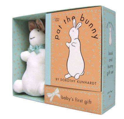 libro pat the bunny touch pat the bunny book and bunny gift set by dorothy kunhardt 9780307163271 item barnes noble 174