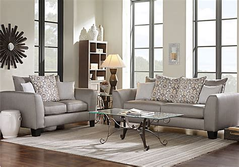 Taupe Living Room Furniture by Bridgeport Taupe 7 Pc Living Room Classic