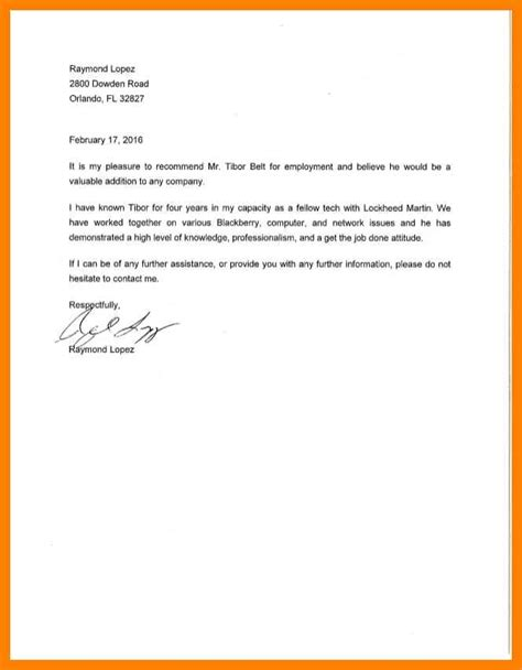 Scholarship Letter Of Recommendation From Coworker 7 Co Worker Letter Of Recommendation Incidental Report