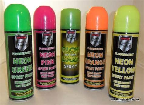 spray paint in hair fantazia shop fancy dress paints uv reactive