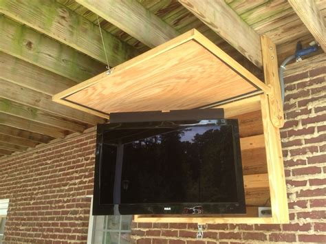 outdoor tv wall the 25 best outdoor tv mount ideas on pinterest flat