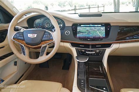 driven  cadillac ct platinum awd autoevolution