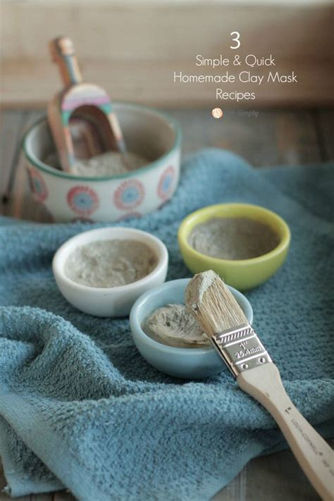 Moisturizing Diy Clay Mask Recipe Rosehip Clay Masks And Masking 3 Simple Clay Mask Recipes Clay Masks And Chang E 3