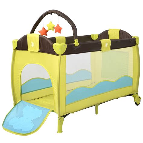 Crib Playpen by Baby Crib Playpen Playard Pack Travel Infant Bassinet Bed