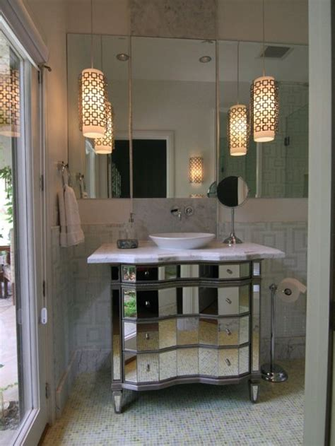 Hanging Bathroom Light Pendant Lights Above Vanity Ideas Pictures Remodel And Decor