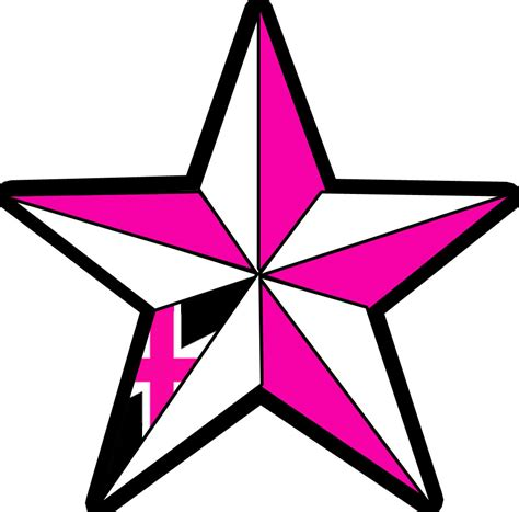 nautical star tattoos clipart best
