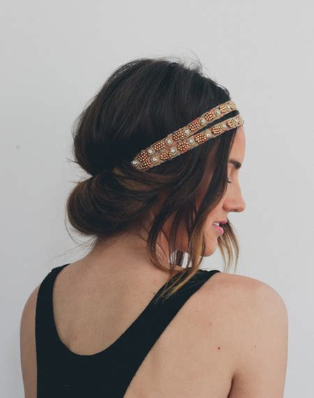 headband tuck hairstyle popular easy to do hairstyle ideas haircuts hairstyles