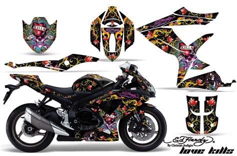 Suzuki Bike Stickers 2008 2010 Suzuki Gsx R600 R750 Bike Graphic Decal