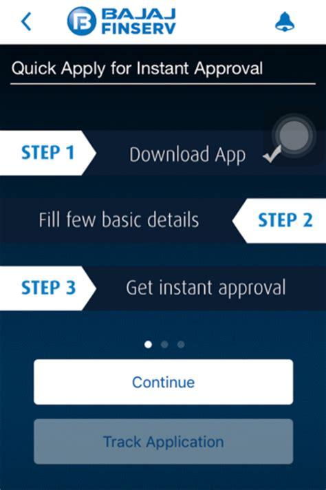 how to apply for bajaj finserv emi card apply for instant emi on your mobile phone using the bajaj