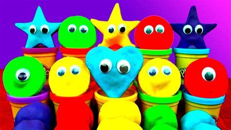 play doh peppa pig frozen cars mickey mario spongebob ice cream disney fluffyjet eggs surprise