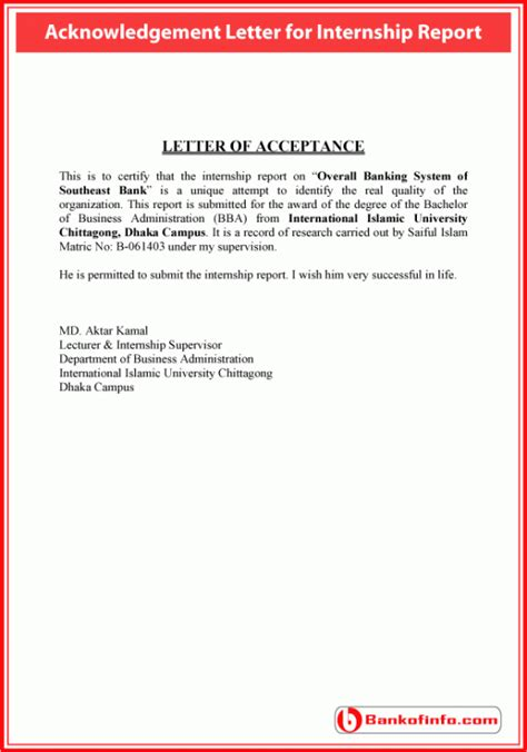 cancellation acknowledgement letter sle acknowledgement letter for internship report
