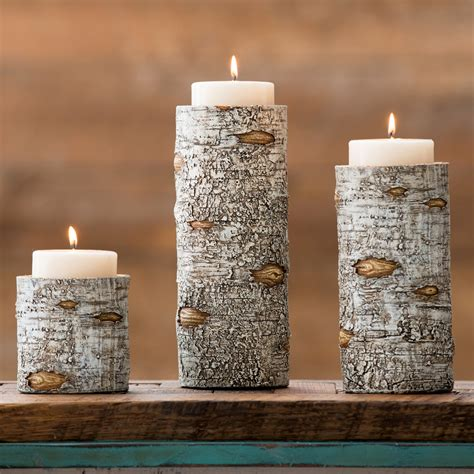 Candle Holders Set Of 3 by Birch Candle Holders Set Of 3