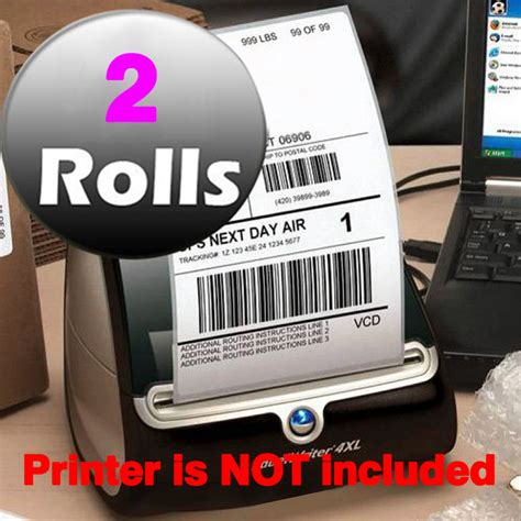 Sticker Pengiriman Shipping Label Isi 48 Pcs No 39 compatible dymo 1744907 large shipping postage 4 quot x 6 quot labels for 4xl premium adhesive