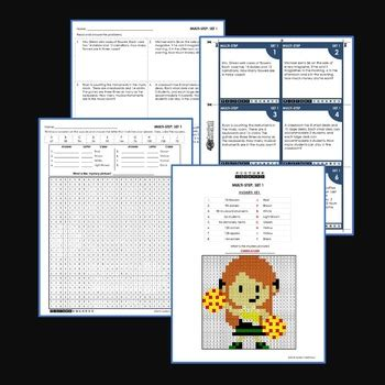 2 step word problems 4th grade worksheets multistep word problems 4th grade multi step word