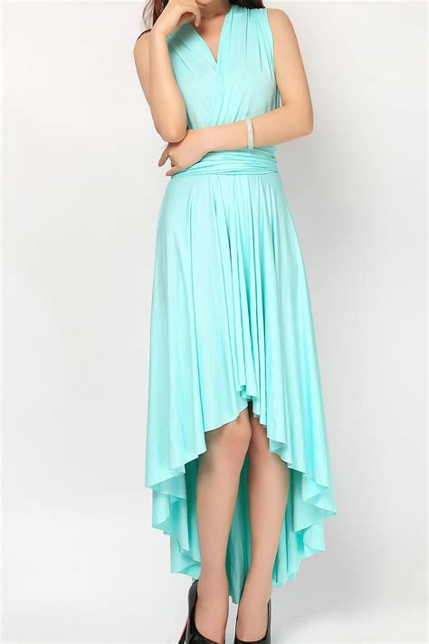 mint green infinity dress mint green high low infinity dress convertible dress