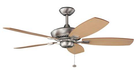 energy ceiling fans kichler 300117ni canfield energy ceiling fan