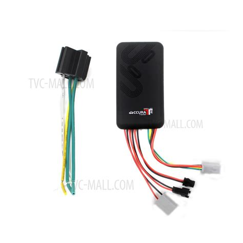 gt06 accurate car gps tracking device vehicle gsm gprs gps tracker black