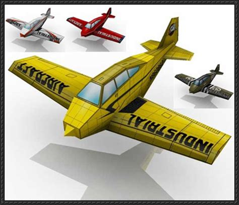 Paper Craft Model - new paper craft simple airplane paper models for
