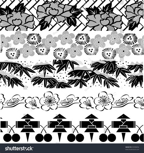 chinese design elements vector free vector set of oriental chinese design elements 93098656